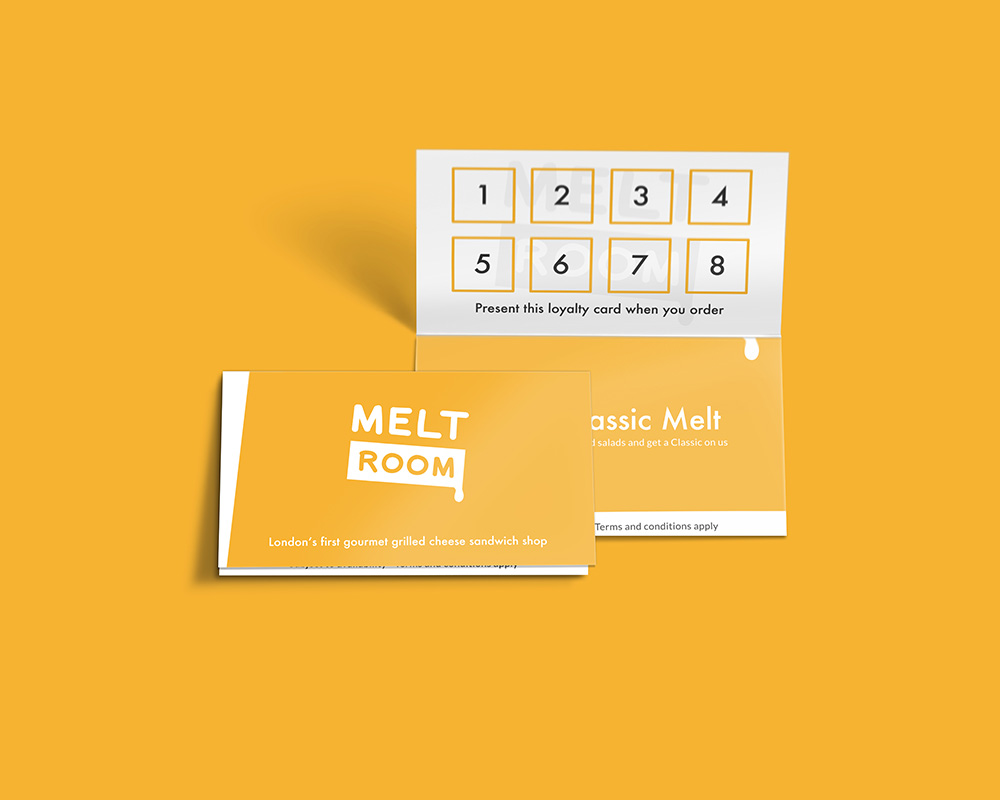 Meltroom loyalty card